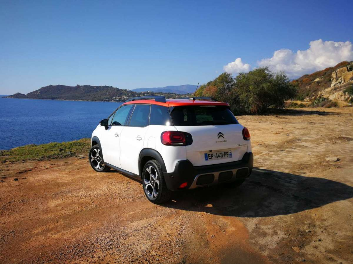 Citroen C3 Aircross 2017 test drive