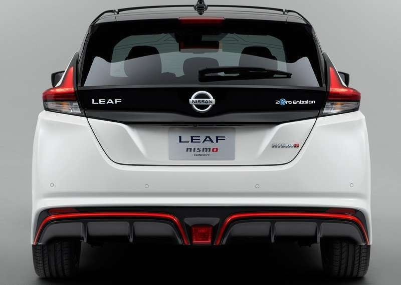 Nissan Leaf Nismo Concept posteriore
