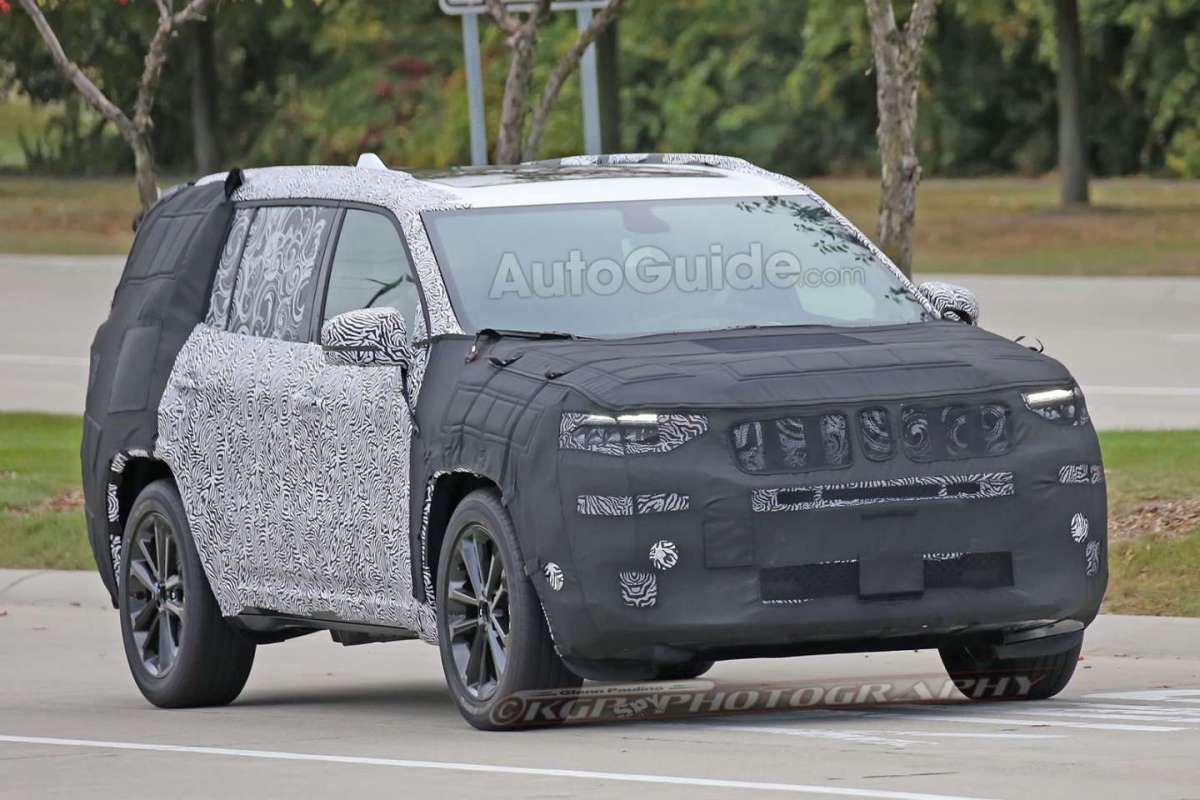 Jeep Yuntu 2018 spy