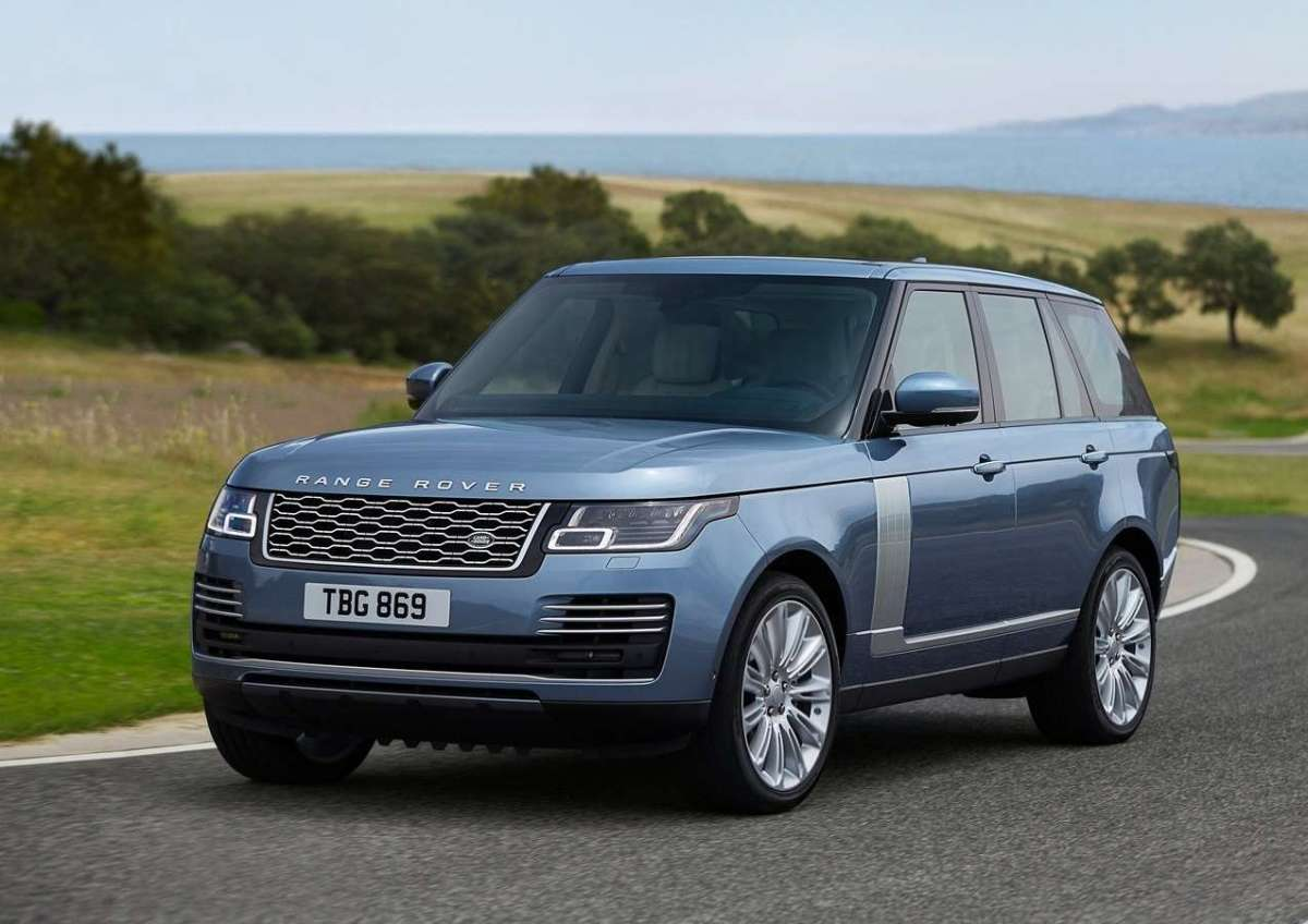 Range Rover restyling 2018