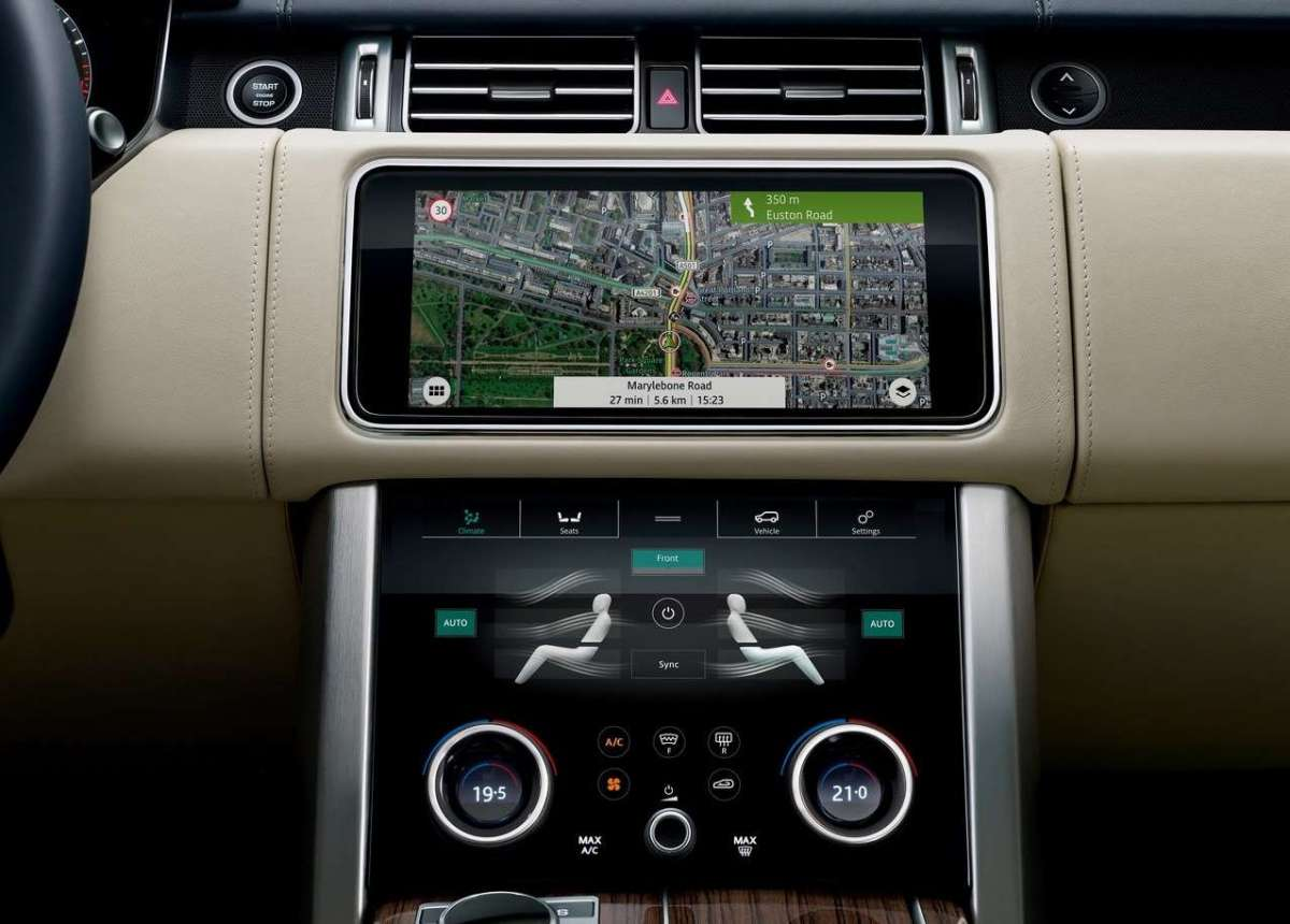 Range Rover facelift 2018 con InControl Touch Pro Duo