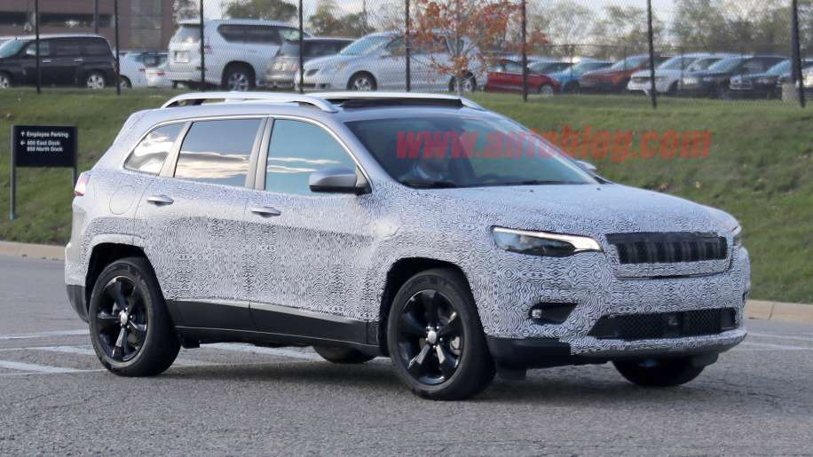 Frontale Jeep Cherokee 2018
