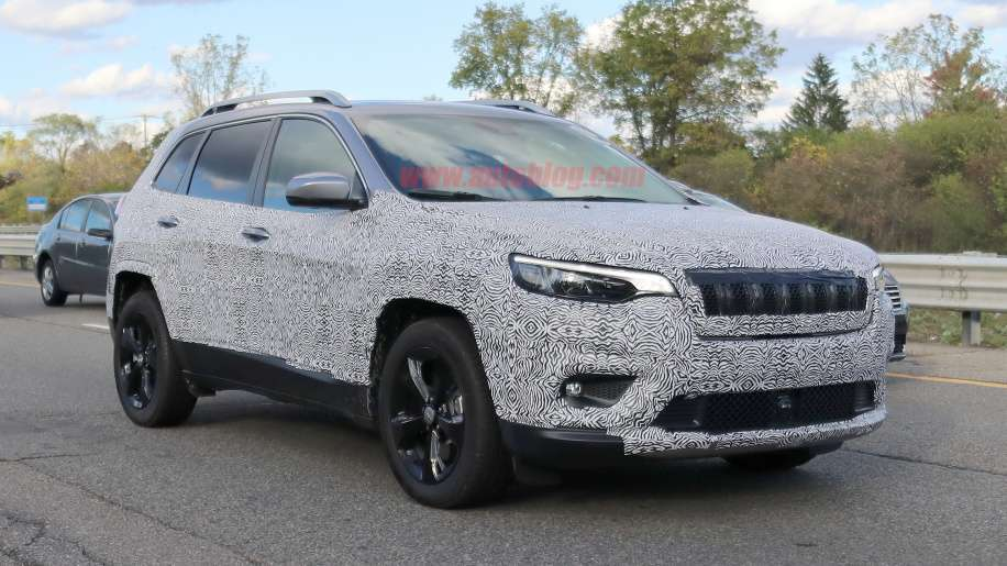 Jeep Cherokee 2018 frontale
