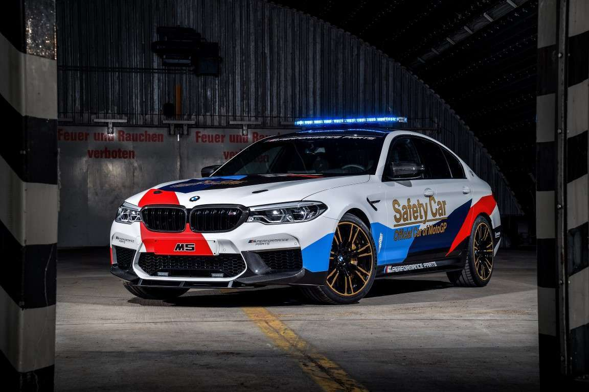 BMW M5 Safety Car MotoGP 2018
