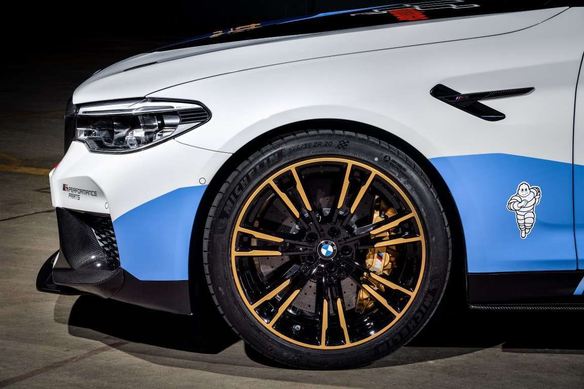 Cerchi di BMW M5 Safety Car MotoGP 2018