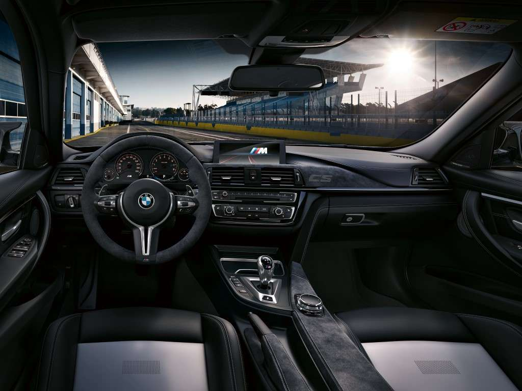 Interni di BMW M3 CS 2018