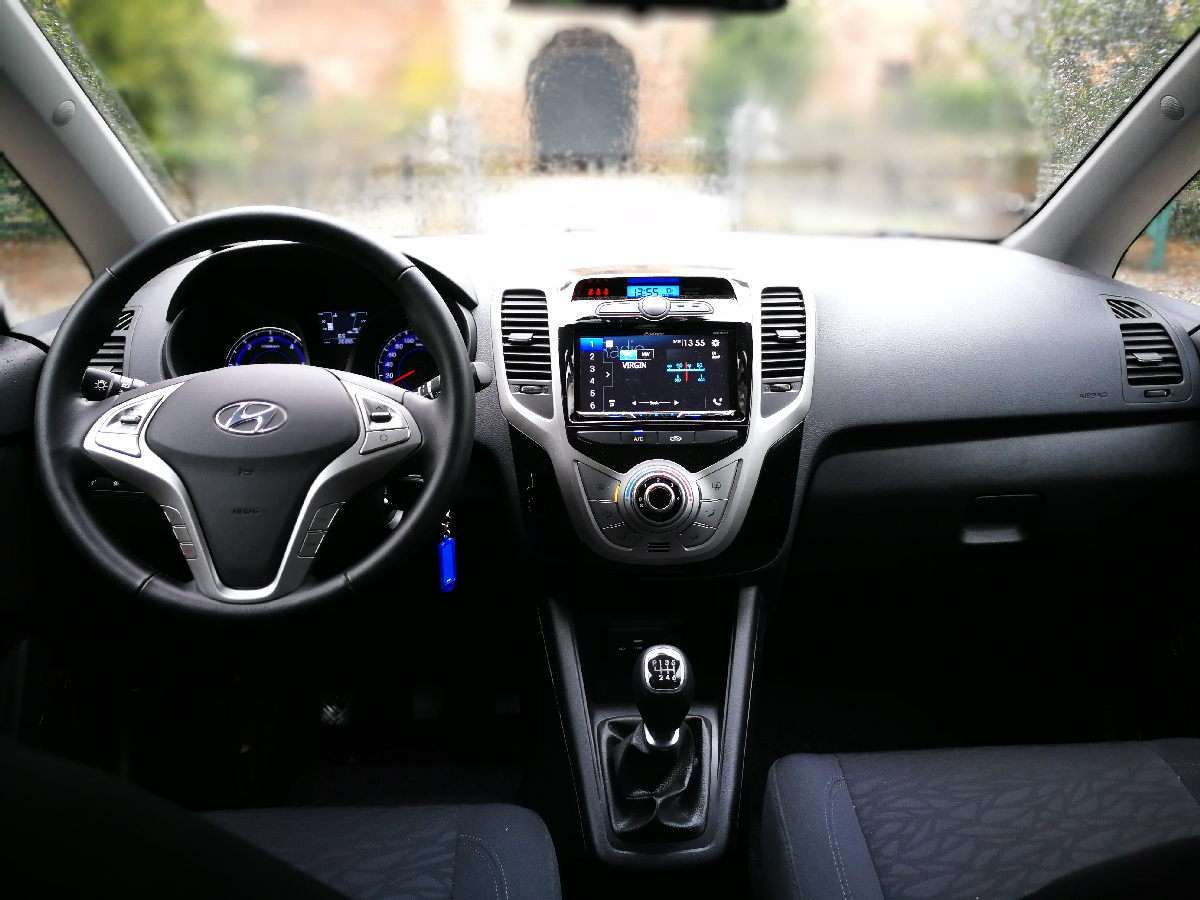 Hyundai ix20 App Mode cruscotto