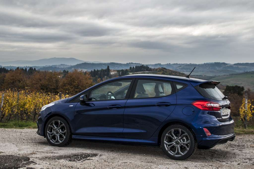 Ford Fiesta ST-Line assetto
