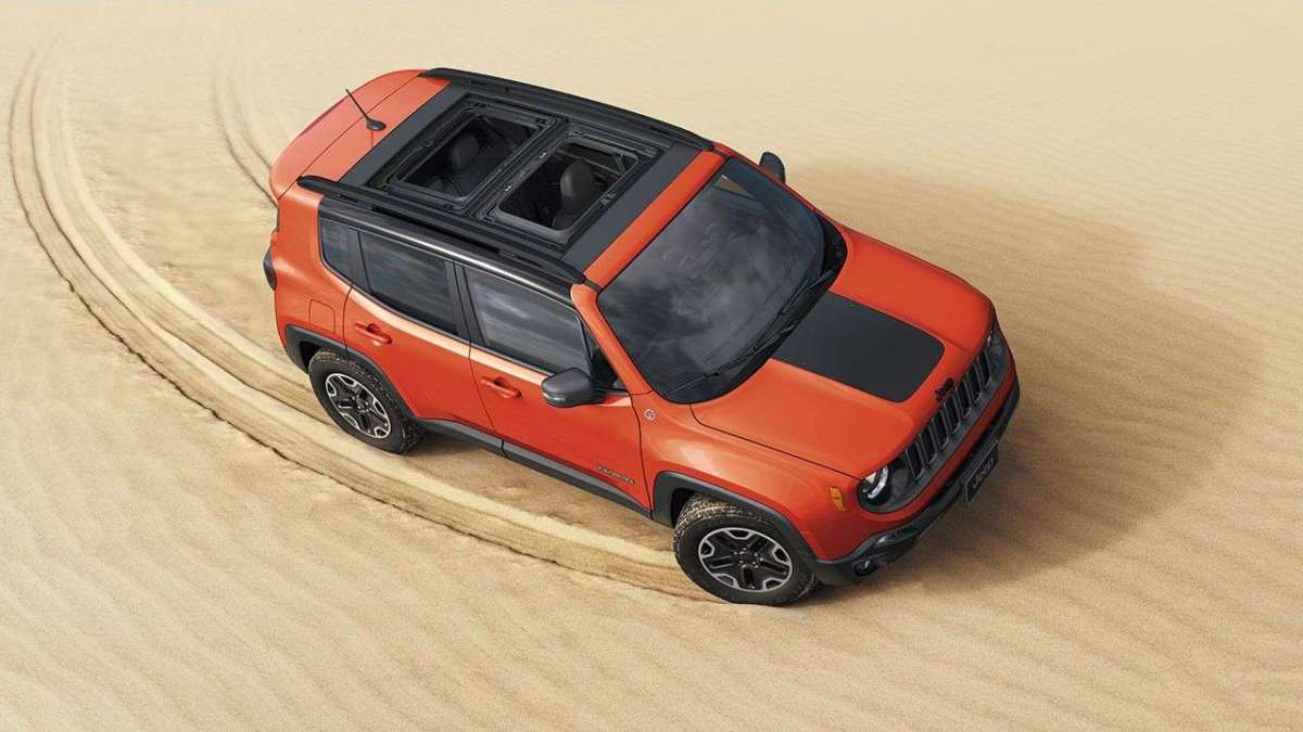 Jeep Renegade restyling Trailhawk