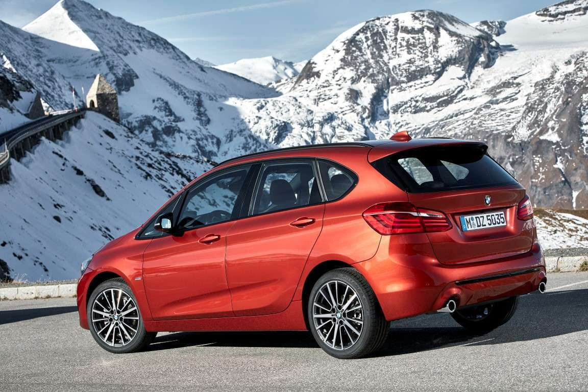 BMW Serie 2 Active Tourer restyling