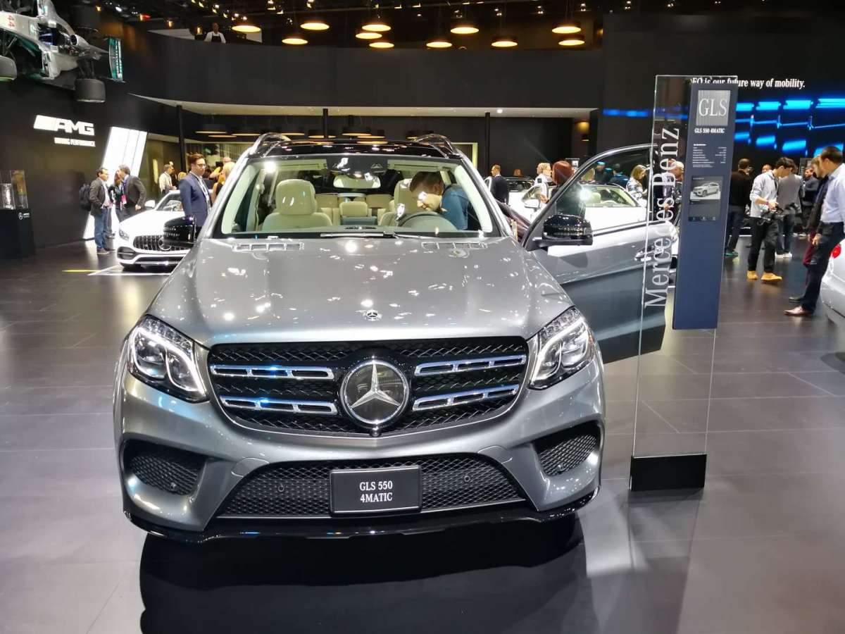 Mercedes GLS 550 4MATIC