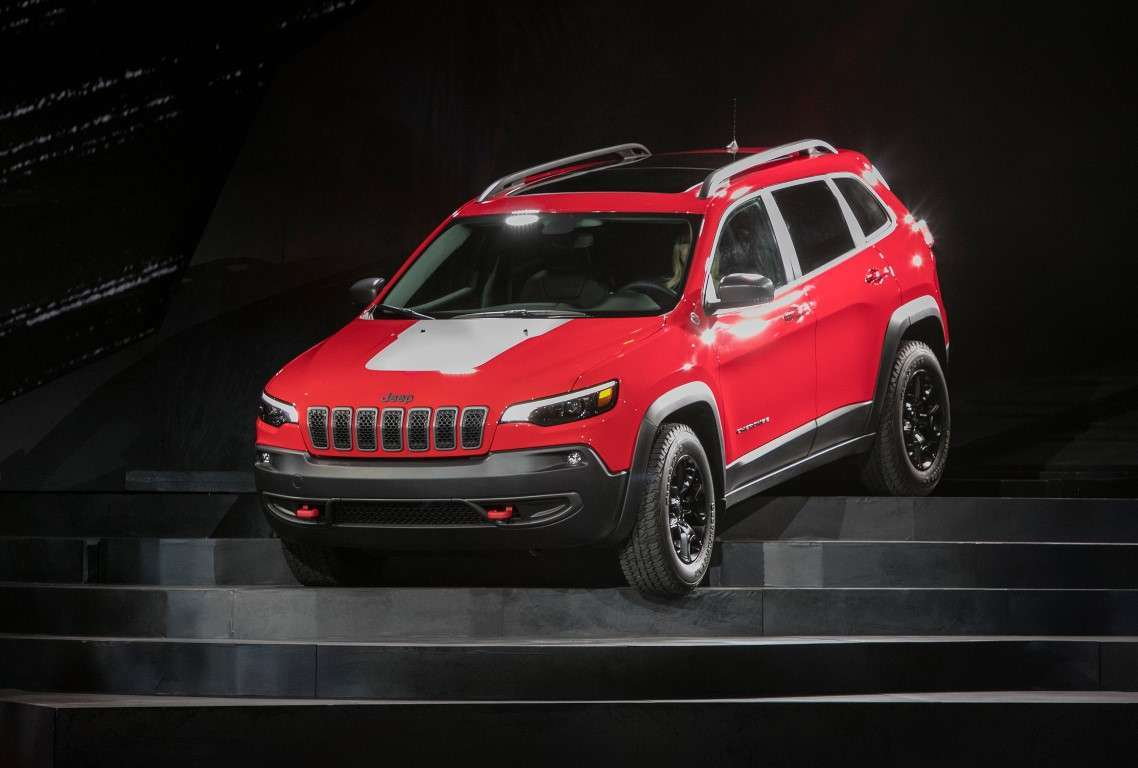 Jeep Cherokee 2018 Trailhawk