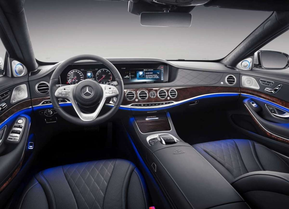 Interni di Mercedes-Maybach Classe S 2018