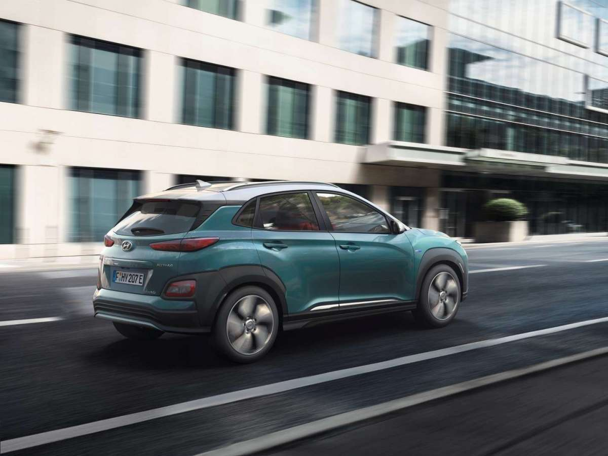 Nuova Hyundai Kona Electric Design