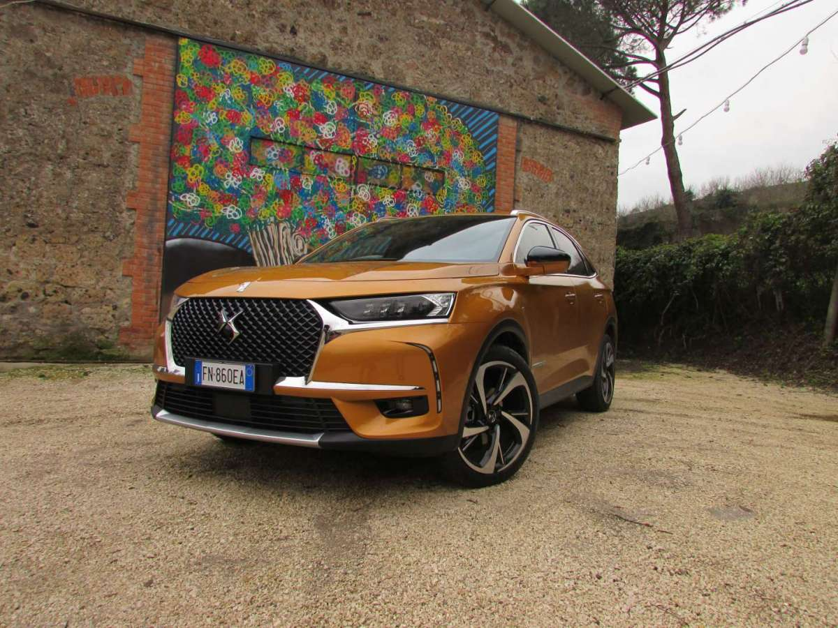 Test drive del DS 7 Crossback