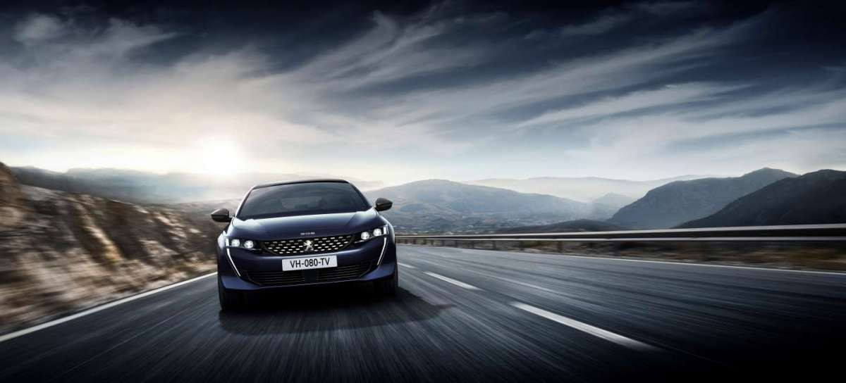 Peugeot 508 First Edition blu