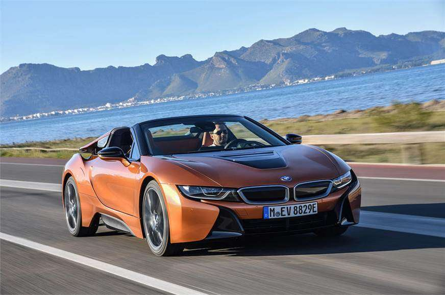 BMW i8 Roadster ibrida