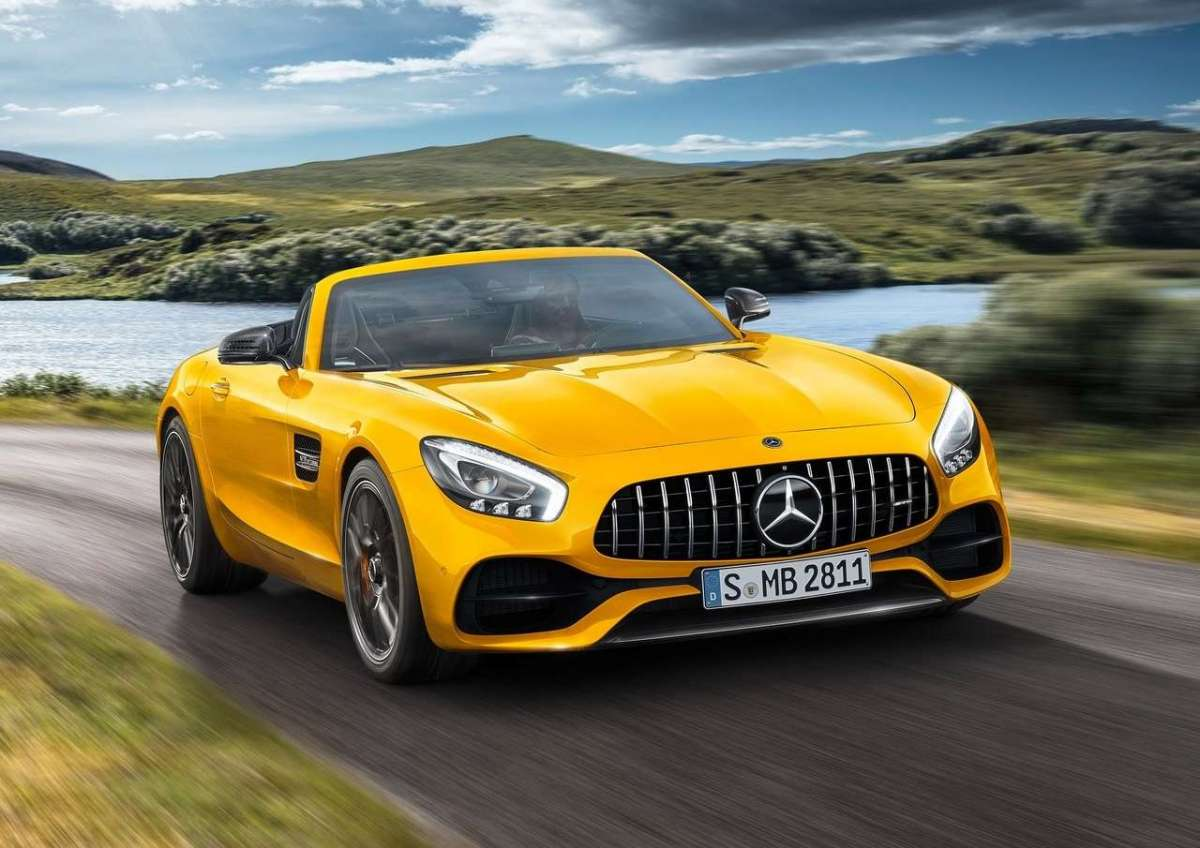 Mercedes AMG GT S Roadster anteriore