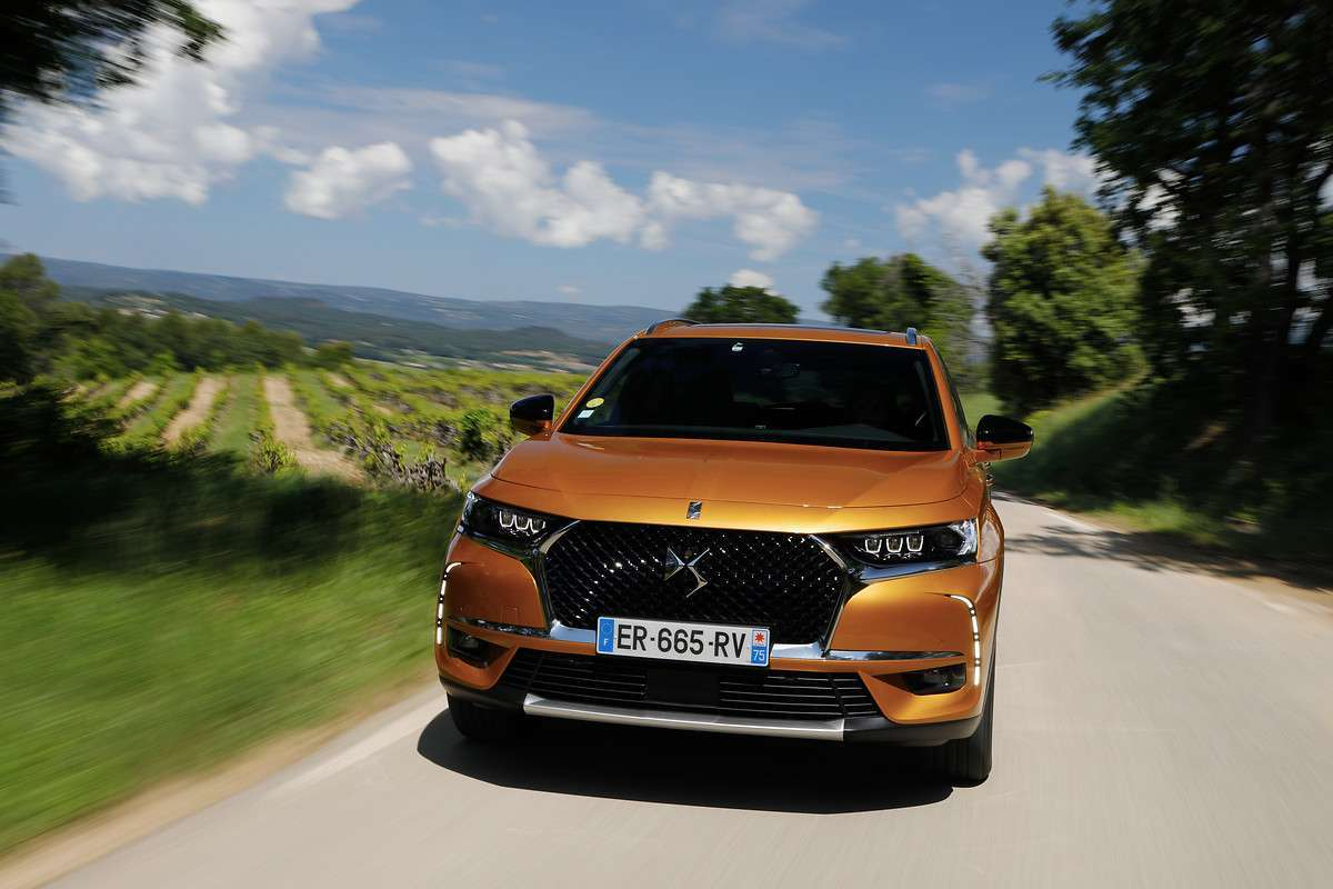 DS 7 Crossback motori