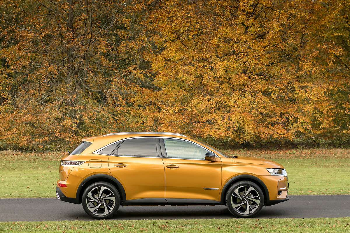 DS 7 Crossback dimensioni