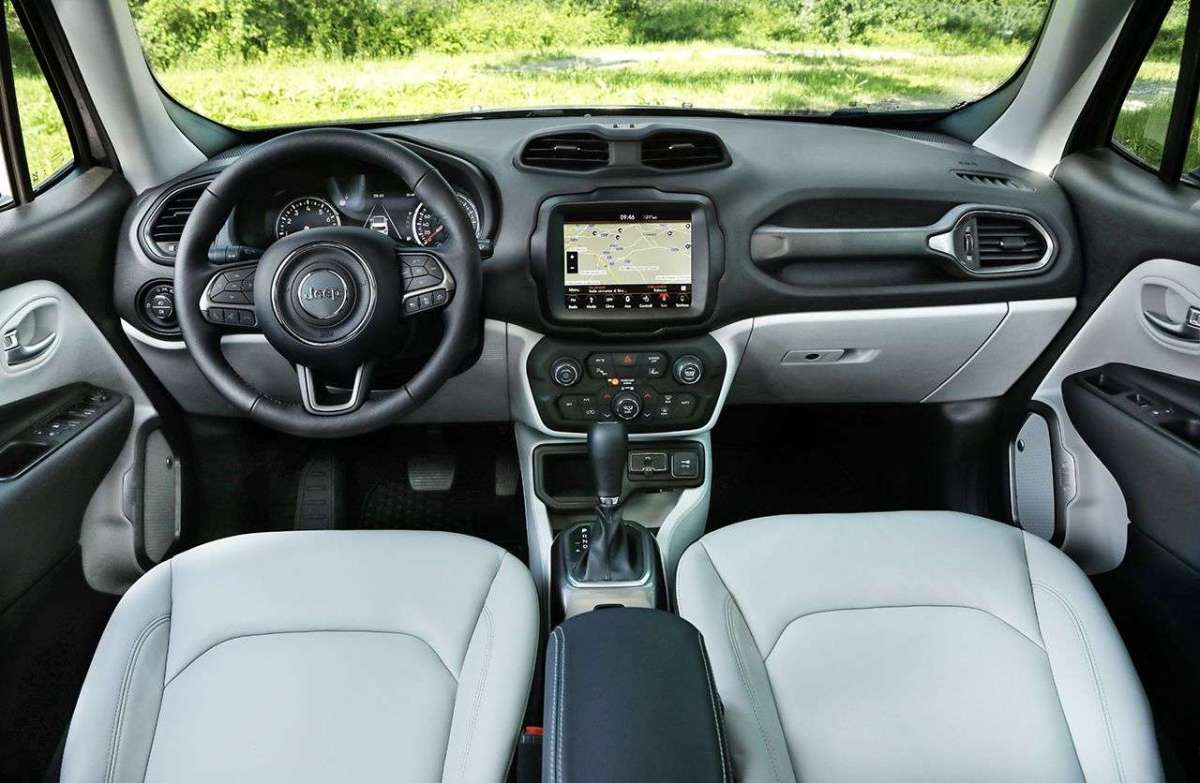 Jeep Renegade 2019 interno
