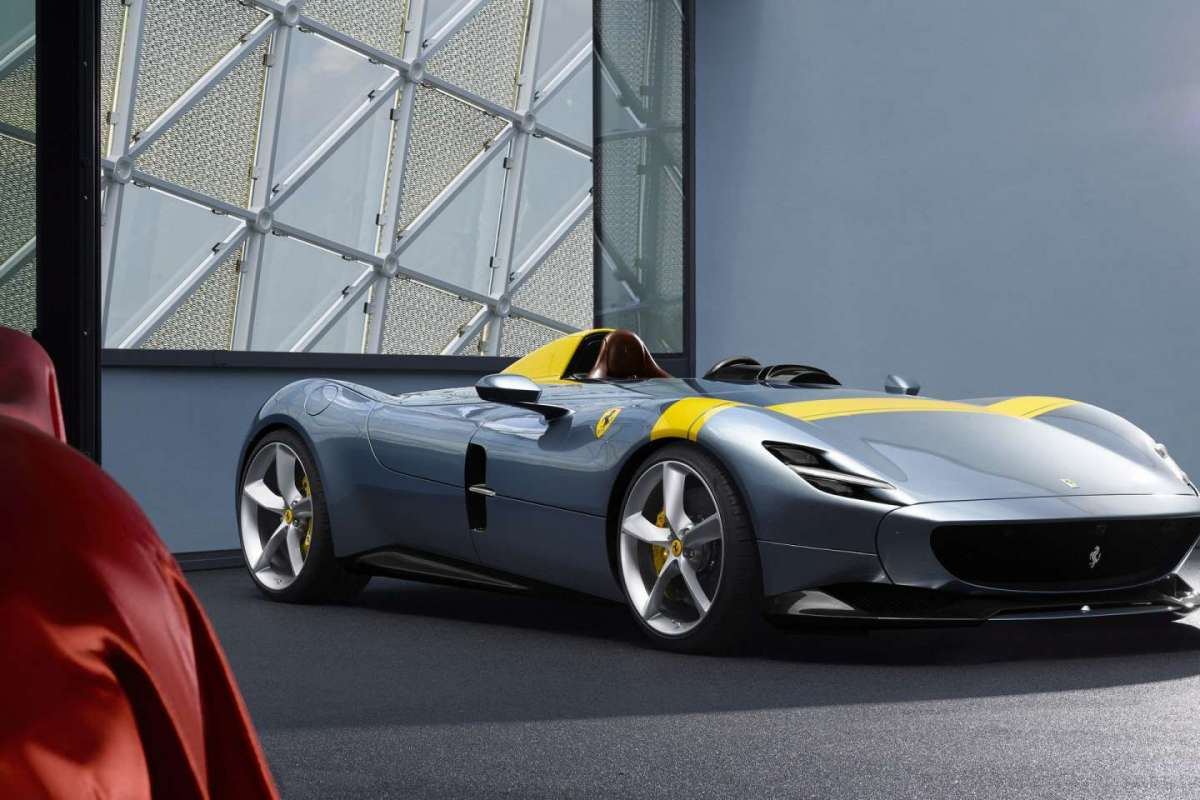 Ferrari Monza SP1 performance