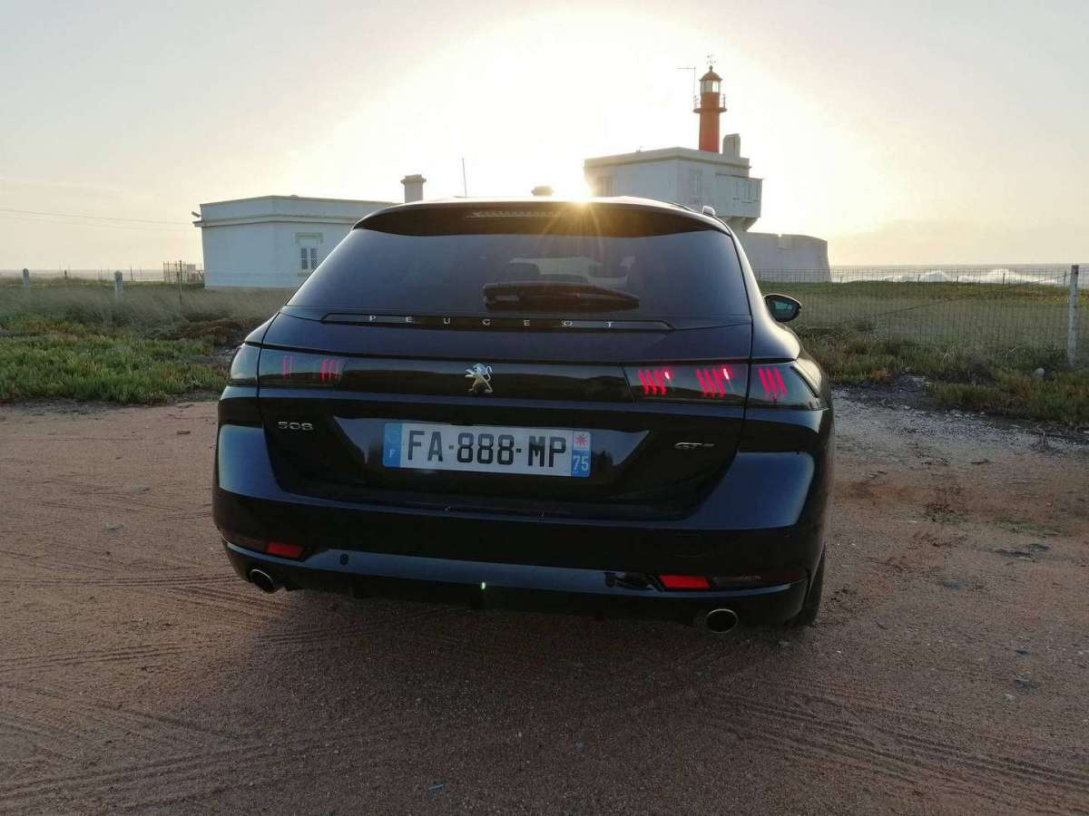Peugeot 508 Station Wagon posteriore