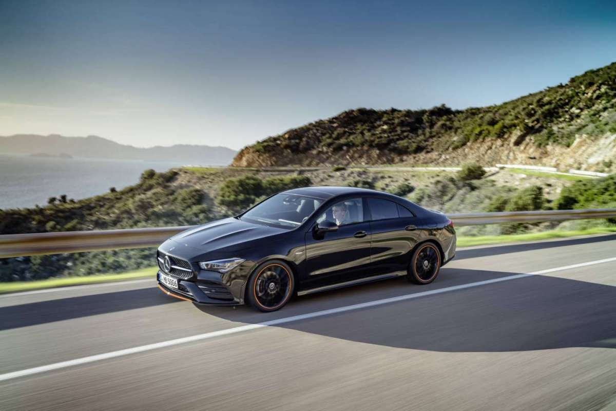 Mercedes CLA 2019 in strada