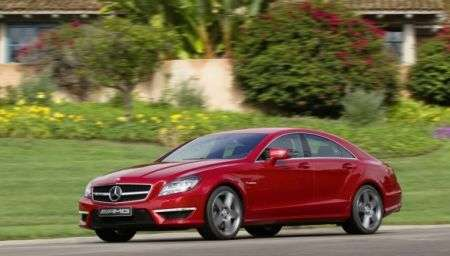 Mercedes CLS 63 AMG lato