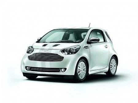 Aston Martin Cygnet White Edition