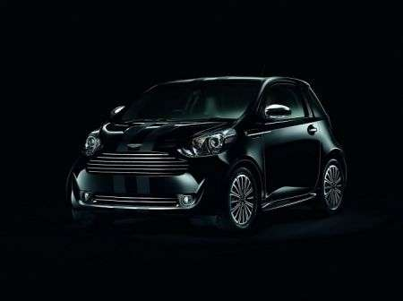 Aston Martin Cygnet Black Edition