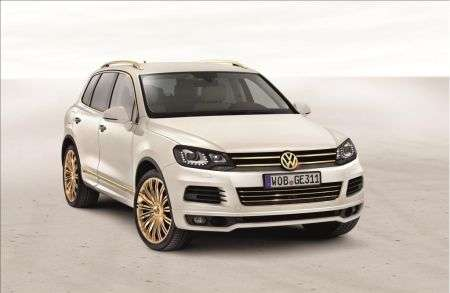 Volskwagen Touareg Gold Edition - frontale