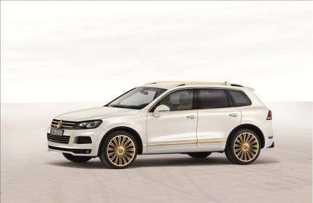 Volskwagen Touareg Gold Edition - laterale