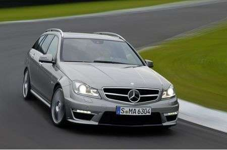 Mercedes C63 AMG restyling sw anteriore