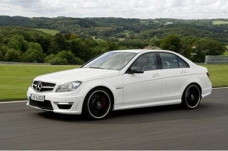 Mercedes C63 AMG restyling laterale