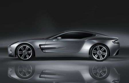 Aston Martin One-77 - laterale