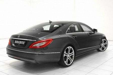 Mercedes CLS by Brabus - retro