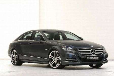 Mercedes CLS by Brabus - frontale