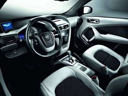 Aston Martin Cygnet - White - interni