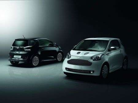 Aston Martin Cygnet - Black & White