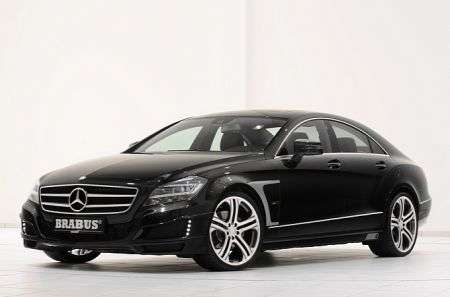 Mercedes CLS by Brabus - diagonale