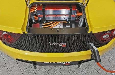 Artega Sports Electric - batteria