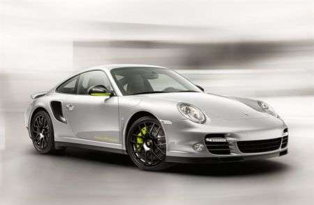 Porsche 911 Turbo S Edition - frontale