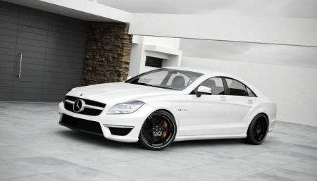 Mercedes CLS Wheelsandmore - frontale