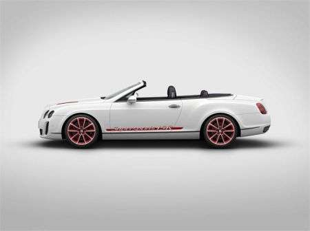 Bentley Continental Supersports Convertible ISR - apert