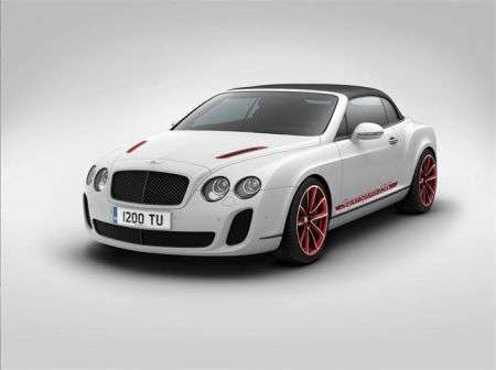 Bentley Continental Supersports Convertible ISR - front
