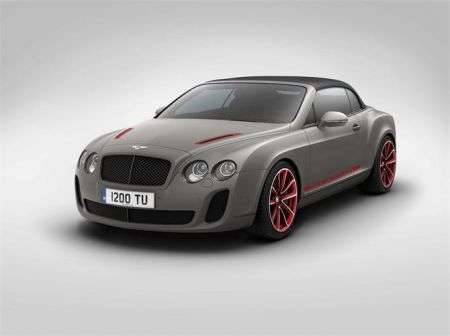 Bentley Continental Supersports Convertible ISR - avant