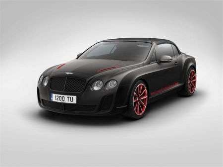 Bentley Continental Supersports Convertible ISR - anter