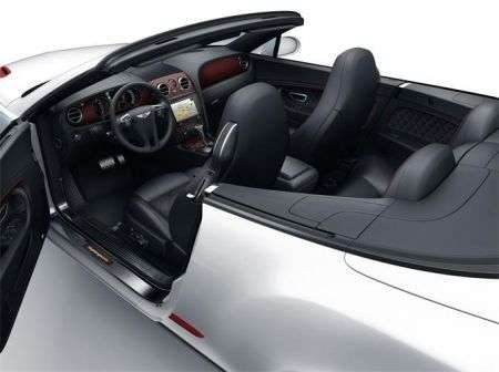 Bentley Continental Supersports Convertible ISR- abitac