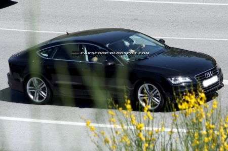 Audi S7 laterale